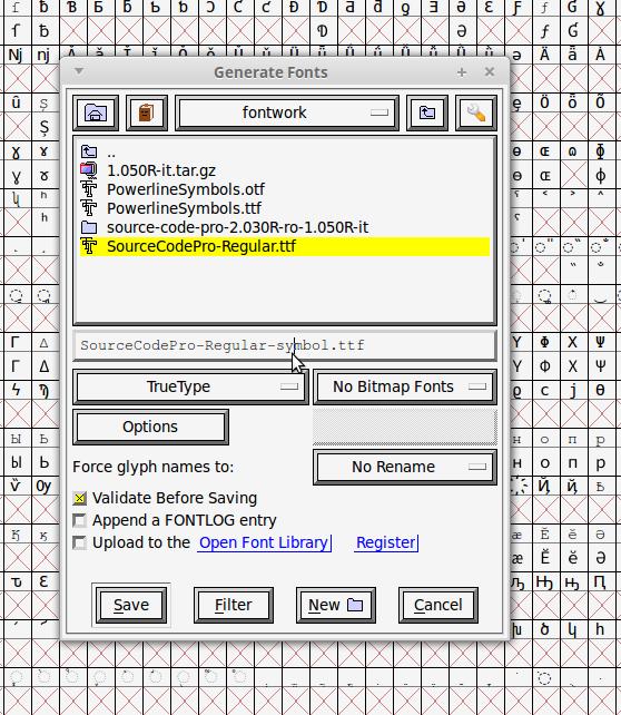 Making powerline fonts work inside IntelliJ IDEA terminal